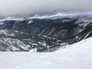 The view from the top of Kachina Peak at Taos Ski Valley.